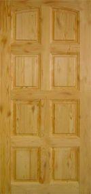 Деревянные филенчатые двери