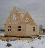 Строительство- дома из бруса